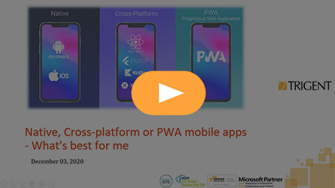 Native, cross-platform or PWA mobile apps – What's best for me